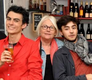 Avec Lucas Rocher et Nans Vincent