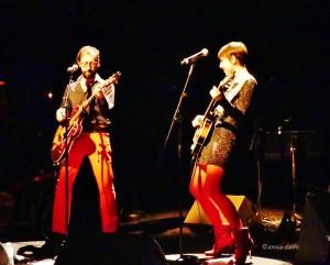 Jeanne Cherhal et JP Nataf Photo ©annie claire