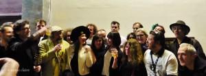 Tous ces beaux artistes ont animé l'après-midi avec talent en chantant la Môme Piaf.
