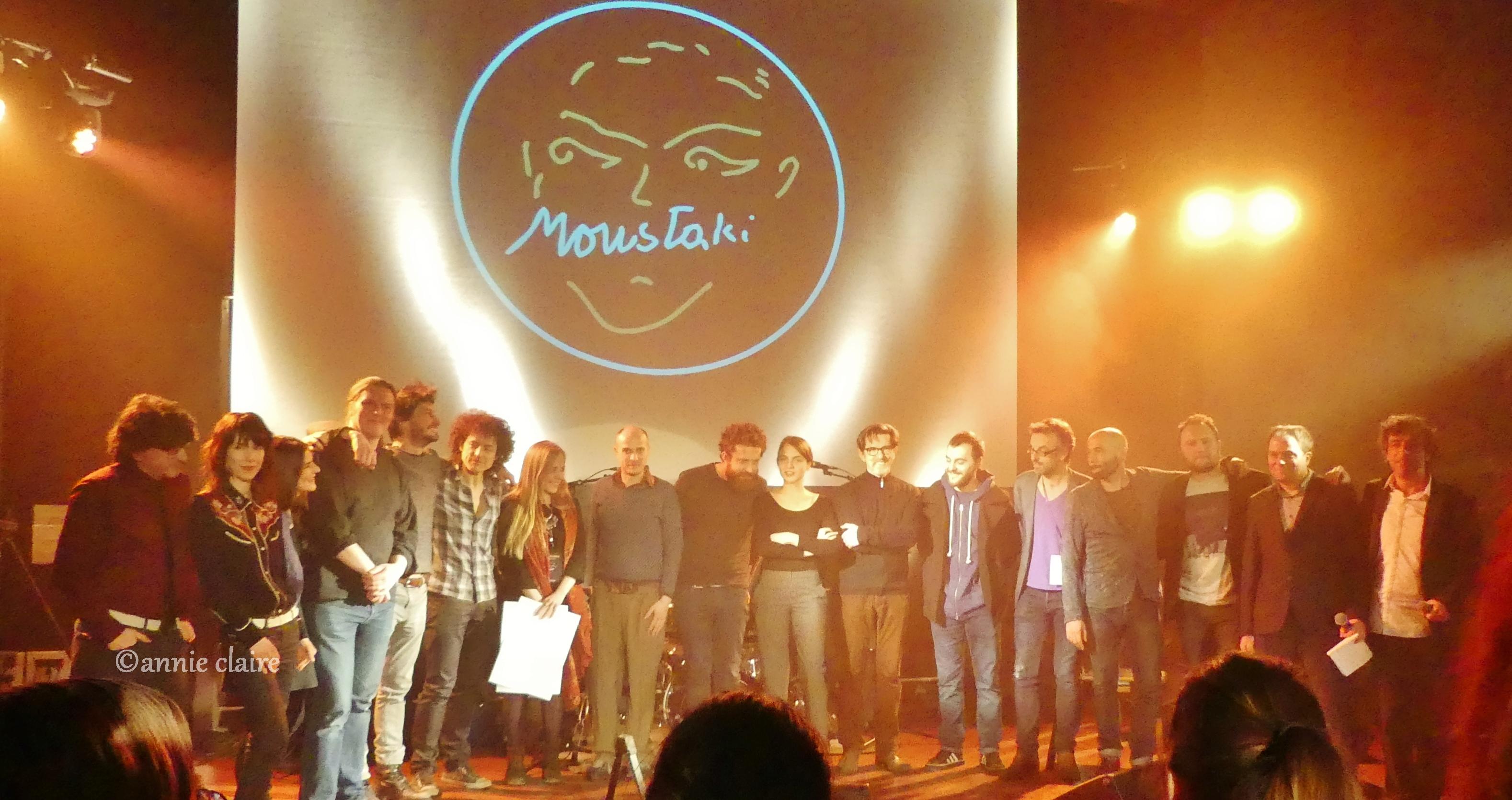 Prix Moustaki 2016 Photo ©annie claire