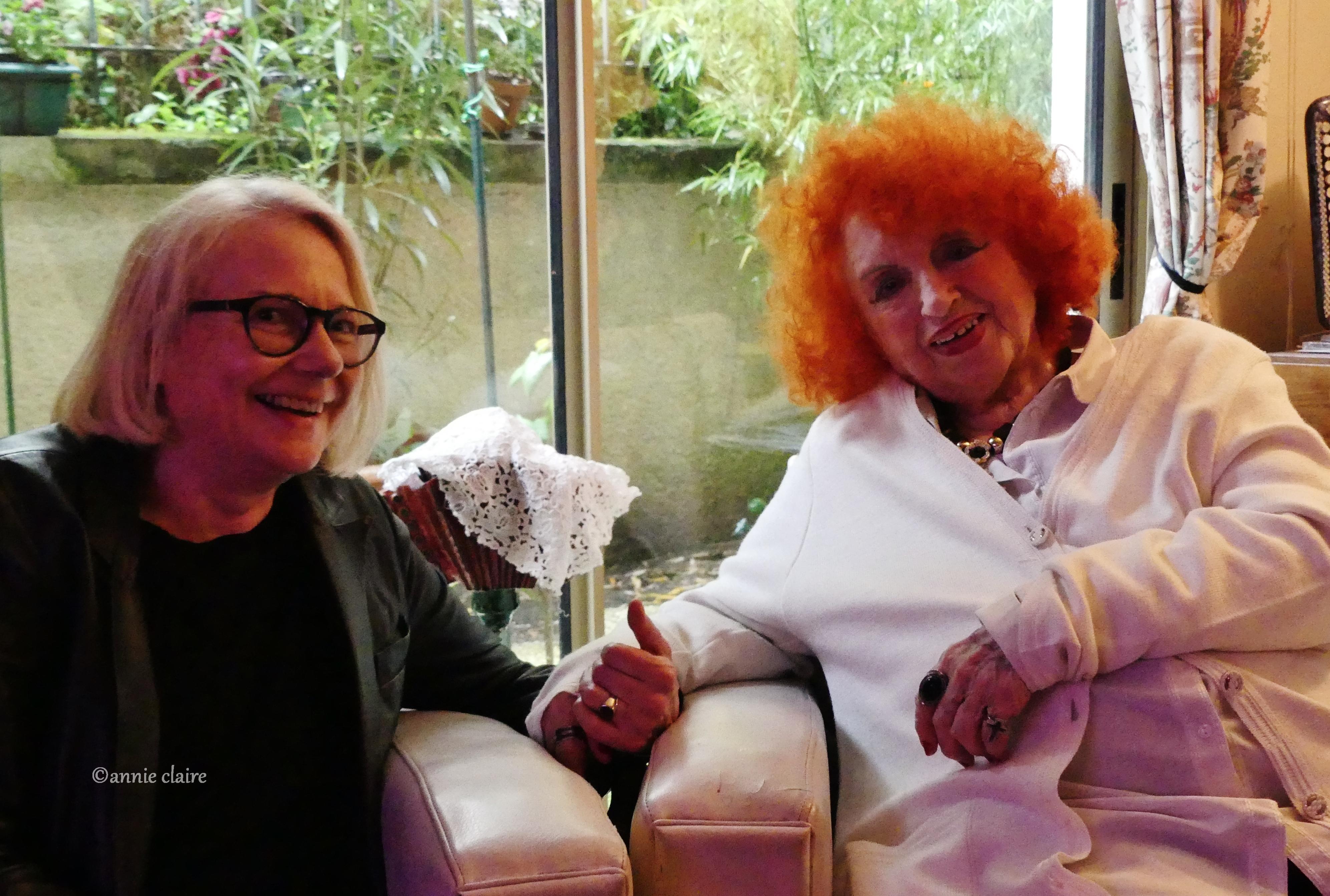 Yvette Horner et moi ©annie claire 10.05.2016