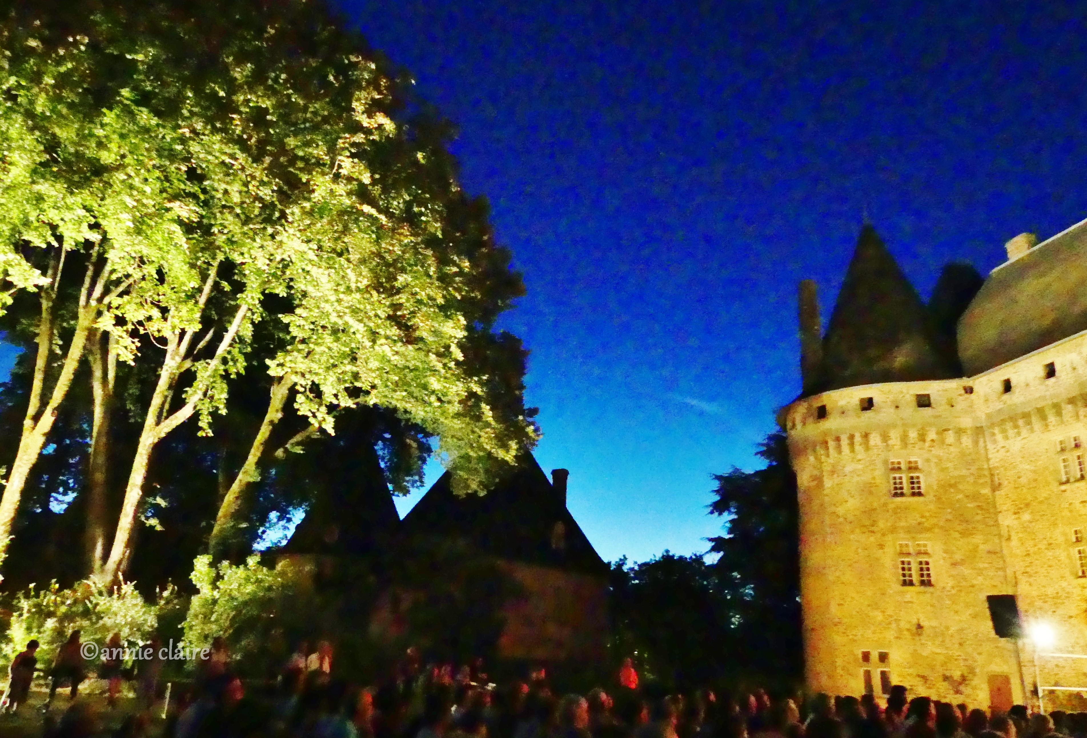 Ouverture du Festival Découvrir au château de Pompadour ©annie claire