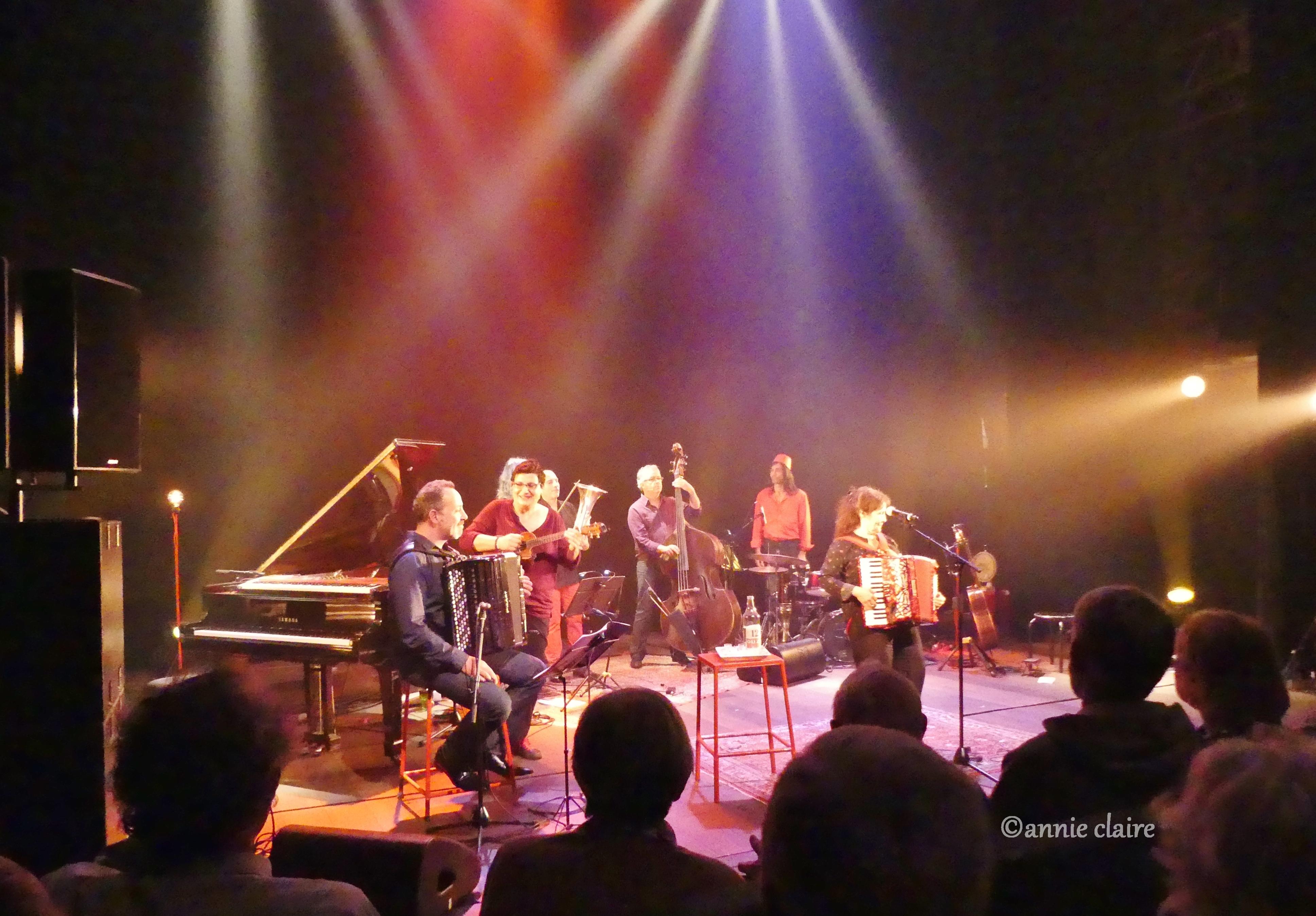Michèle bernard fête sa sortie d'album au Café de la Danse ©annie claire 16.10.2016