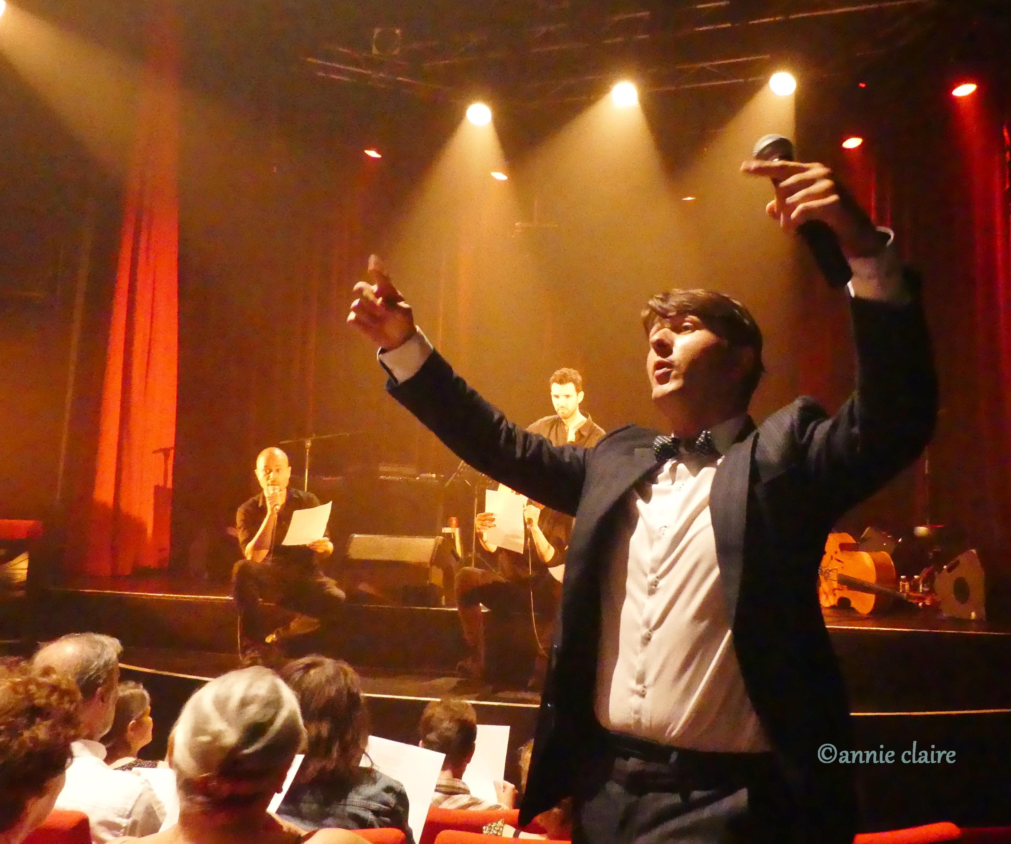 Maxime Costa fait chanter la salle des Trois Baudets ©annie claire 17.07.2017