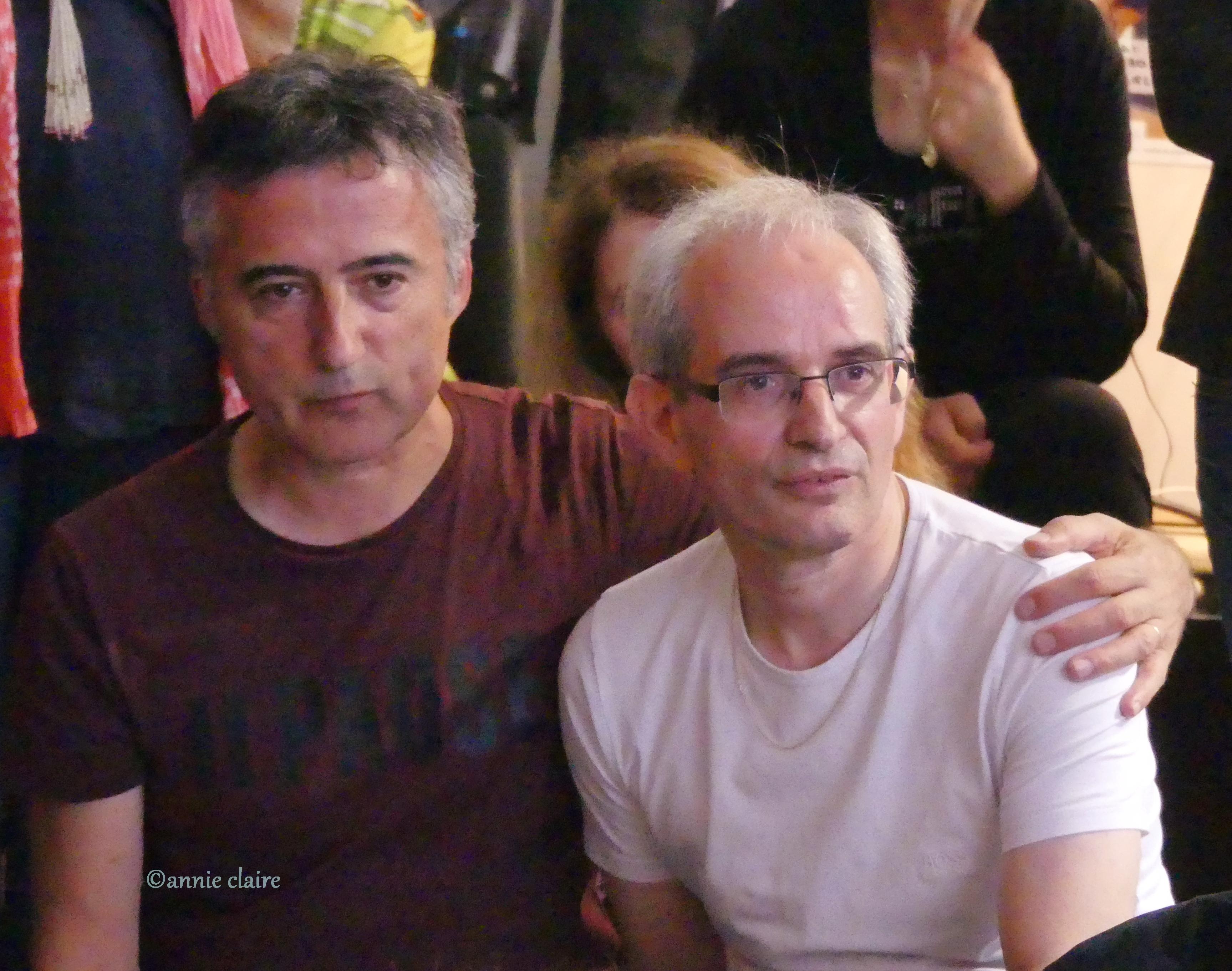 Daniel Zanzara et Bruno Marsella ©annie claire 28.07.2017