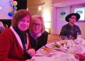Avec Isabelle Roy et Pierre Guitard à Moncton